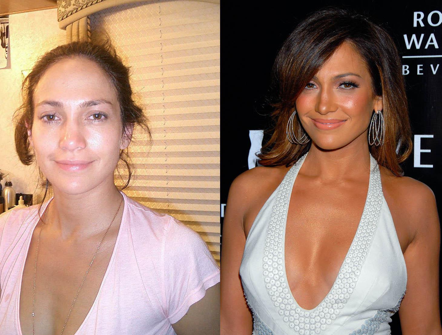 La Transformation Simple Des Stars . jennifer-lopez-sans-maquillage ... Gwyneth Paltrow